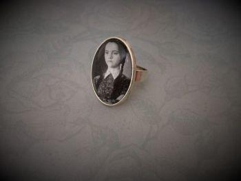 Wednesday Addams Ring