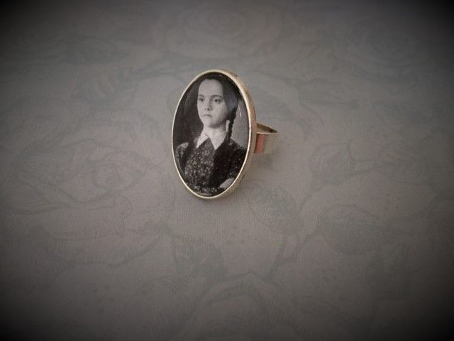 Wednesday Addams Ring