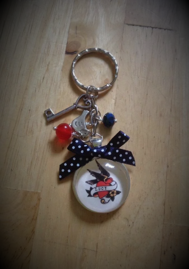 Sailor Jerry Personalised Keyring / Keychain