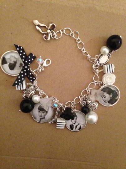 Audrey Hepburn Charm Bracelet