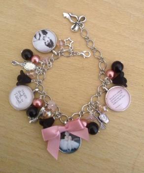 Vintage Starlets Bracelet - Hepburn / Monroe