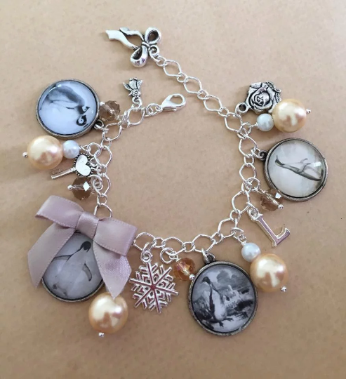 Vintage Penguin Charm Bracelet