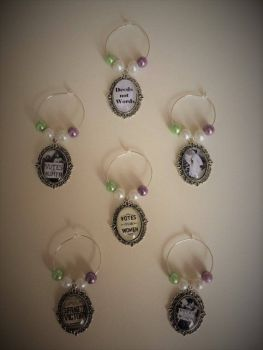 Votes for Women Wine Glass Charms