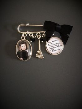 Bewitched Pin Brooch - Halloween
