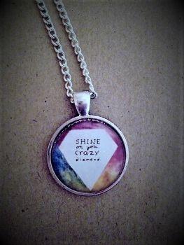 Shine On You Crazy Diamond Necklace