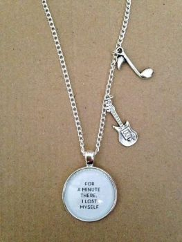 Radiohead - Karma Police Lyrics Necklace
