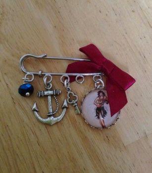 Sailor Jerry Pin Brooch