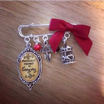Mary Poppins Practically Perfect Pin