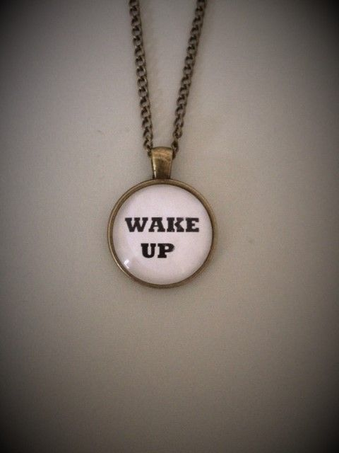 Wake Up Necklace
