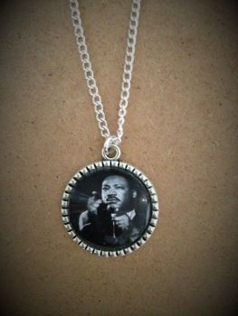 Martin Luther King Jr Pendant Necklace