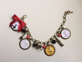 Mary Poppins Style Charm Bracelet