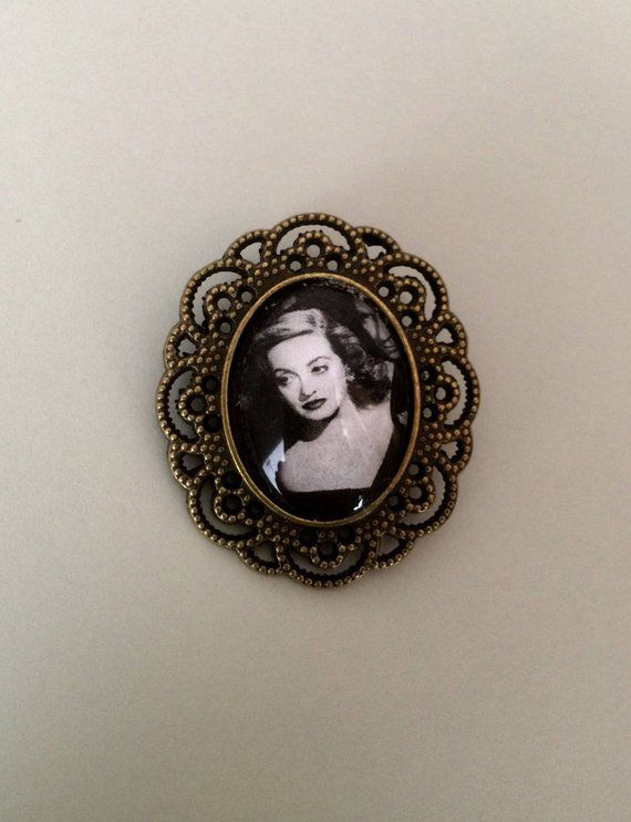 Bette Davis Brooch