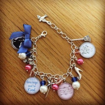 Cinderella Quotation Bracelet