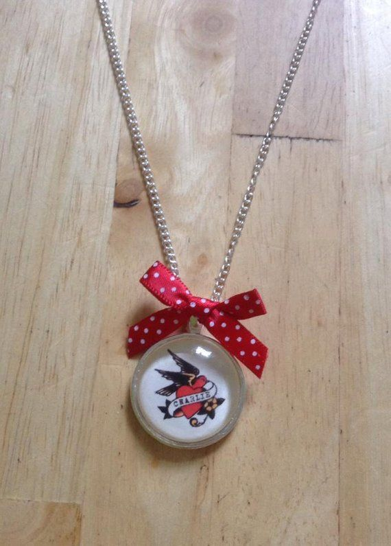 PERSONALISED Sailor Jerry Necklace
