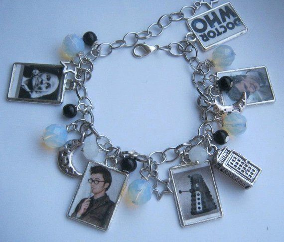 Dr Who Bracelet - Handmade, Unique