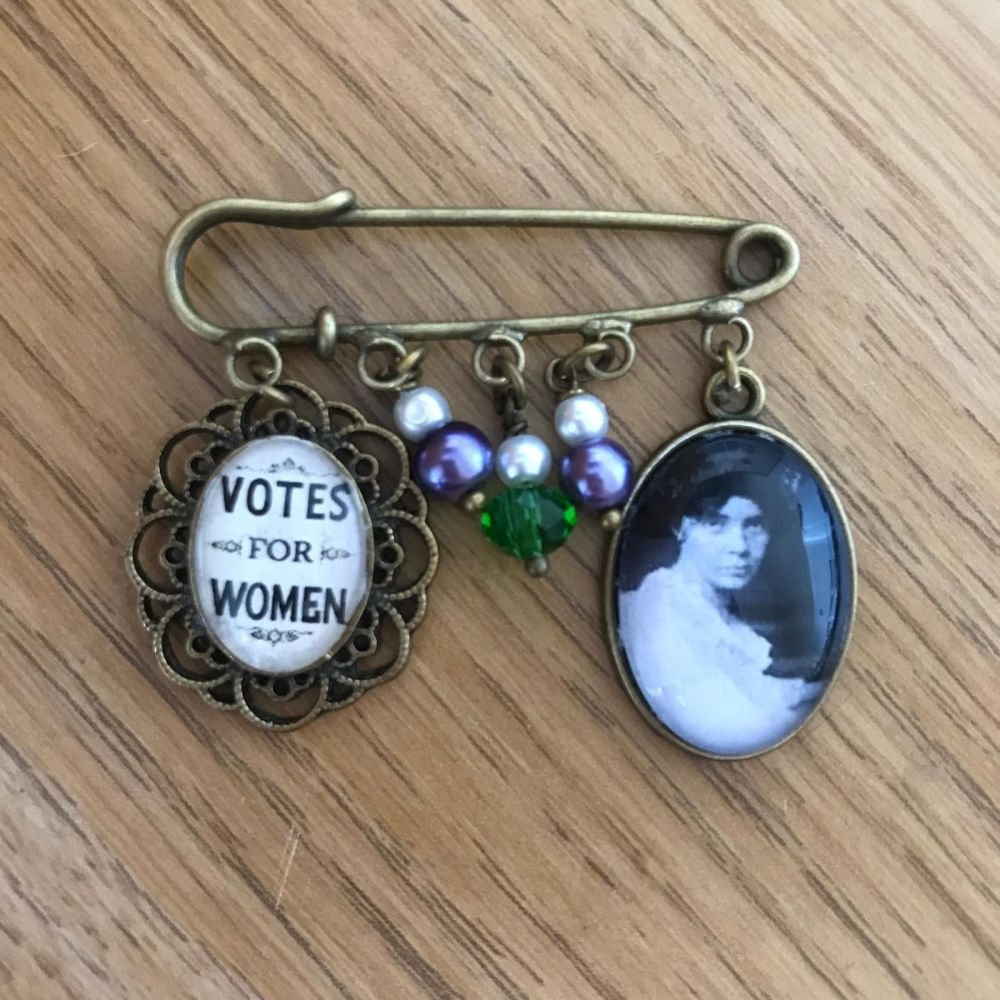 Alice Paul / Votes for Women Pin Brooch