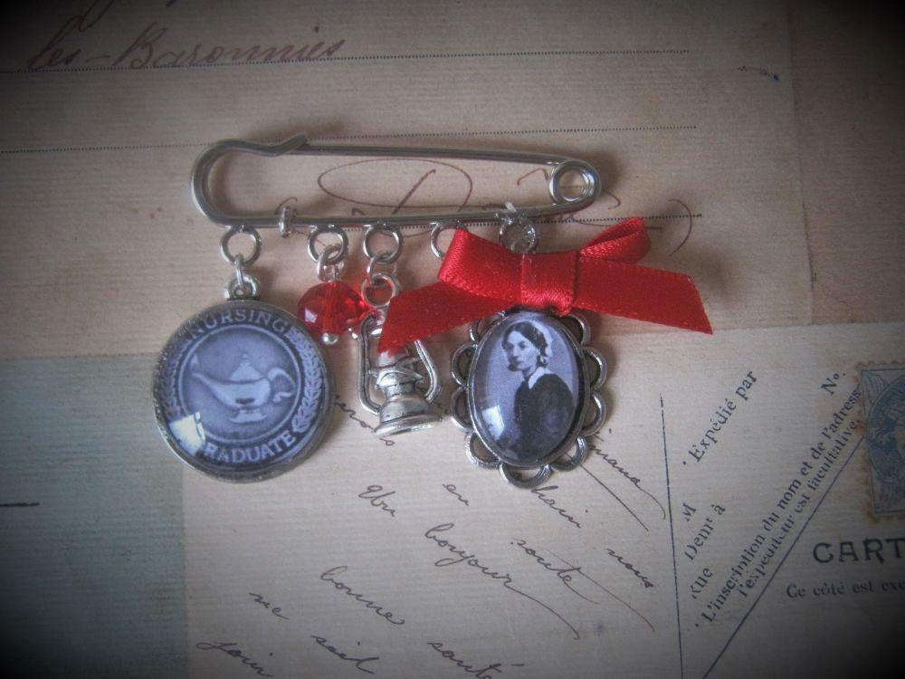 Nursing Graduate Pin Brooch