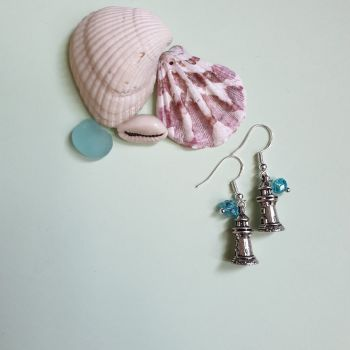 Ocean Lighthouse Earrings
