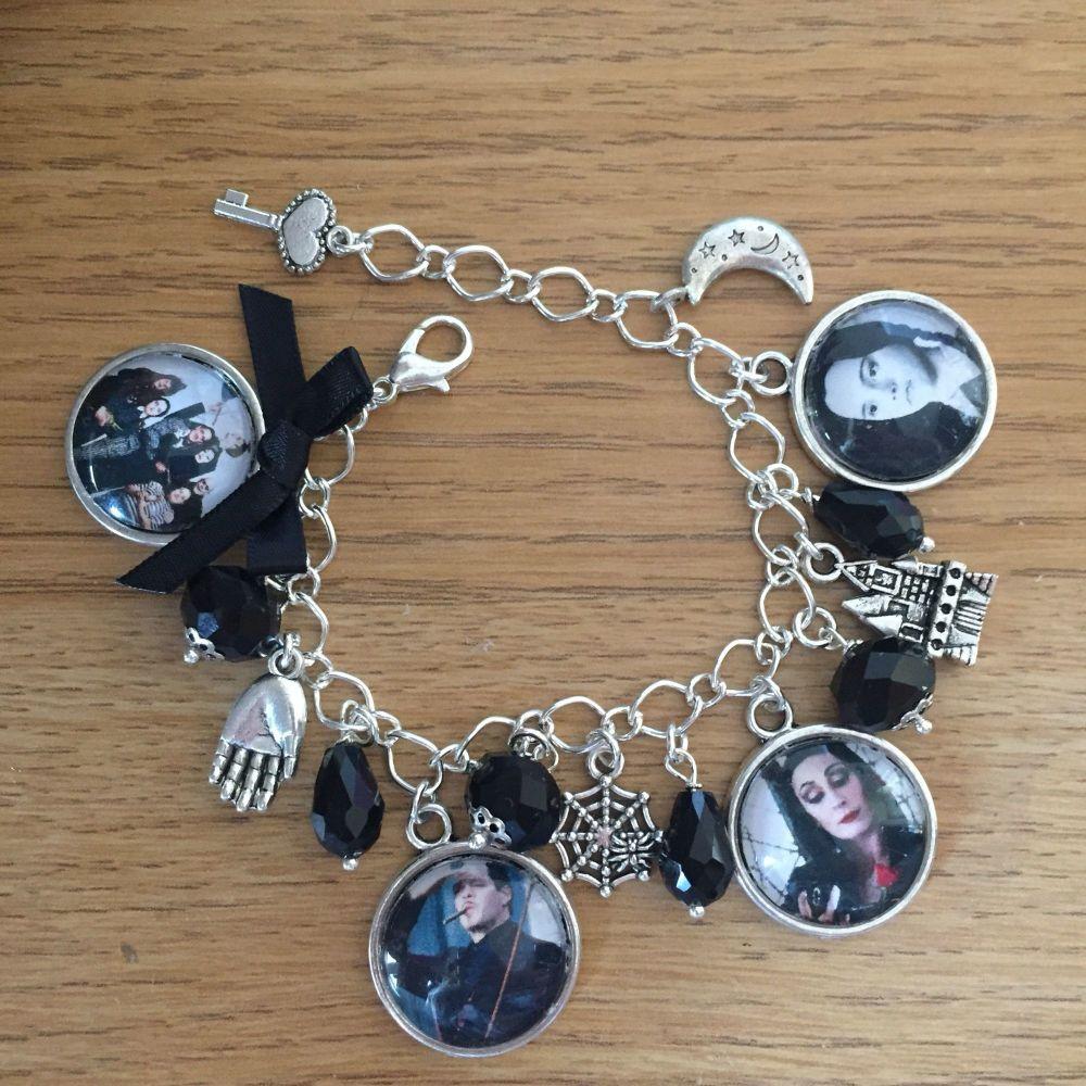 Addams Family Charm Bracelet