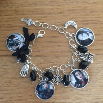 HALLOWEEN !!!   Addams Family Charm Bracelet