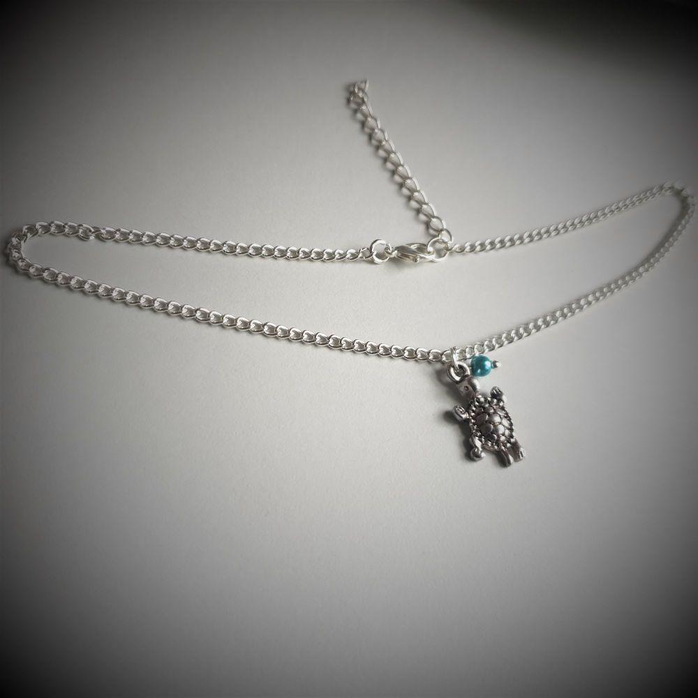 Ocean Turtle Choker Necklace
