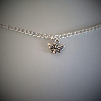 Honey Bee Choker Necklace