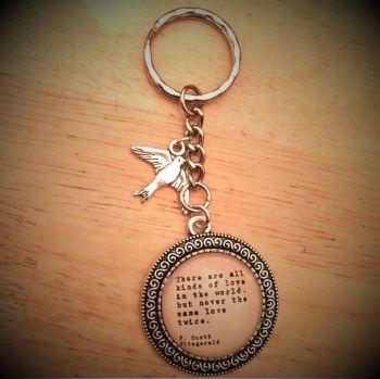 Great Gatsby Keyring / Keychain