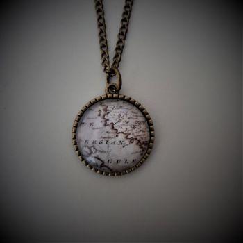 Persian Gulf Iran Necklace in Bronze/Silver