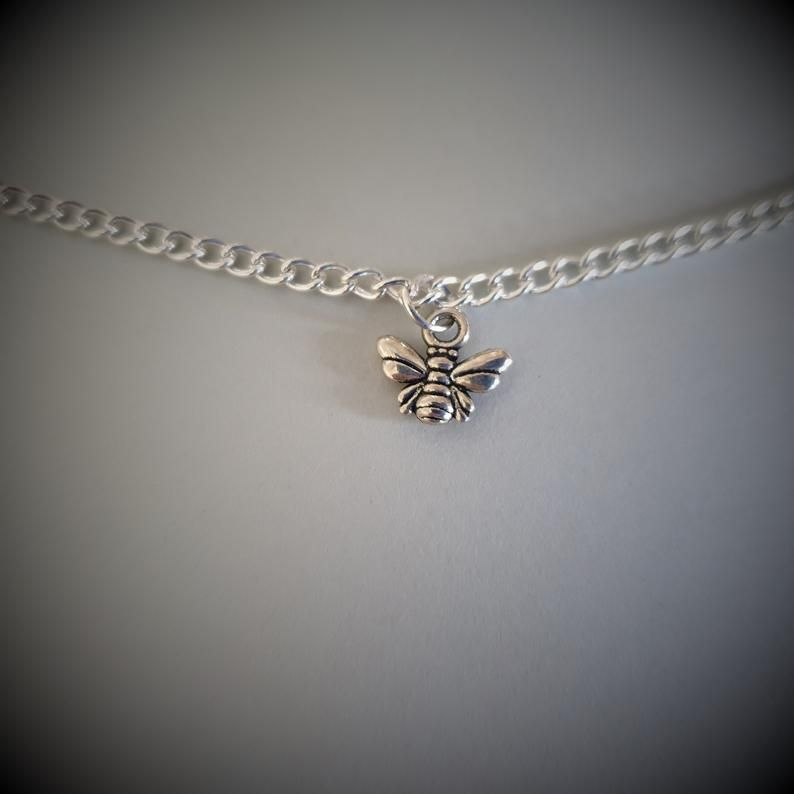 Honey Bee Anklet