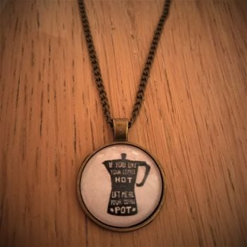 I Wanna Be Yours Lyrics Necklace