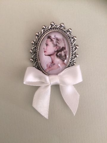 Grace Kelly Pin Brooch