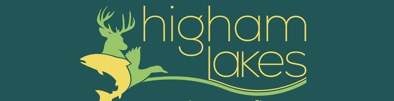Higham lakes, site logo.