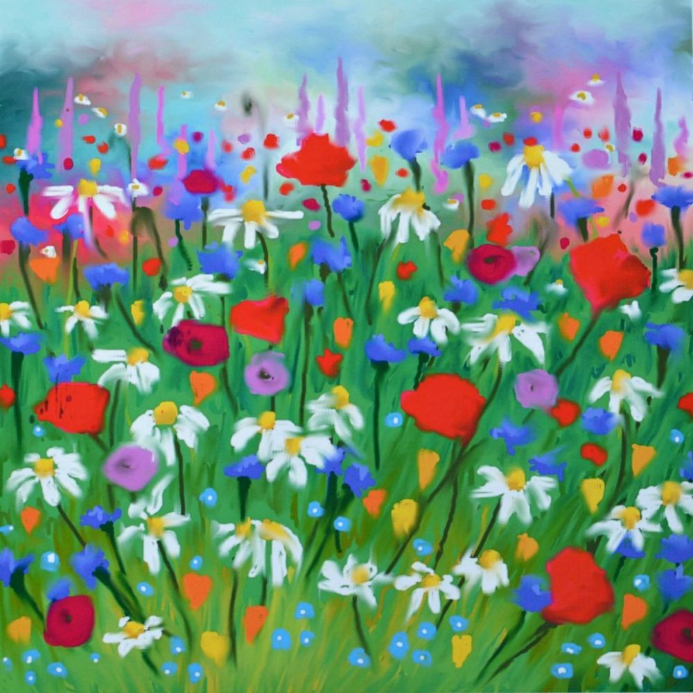 Daisy Meadow Print