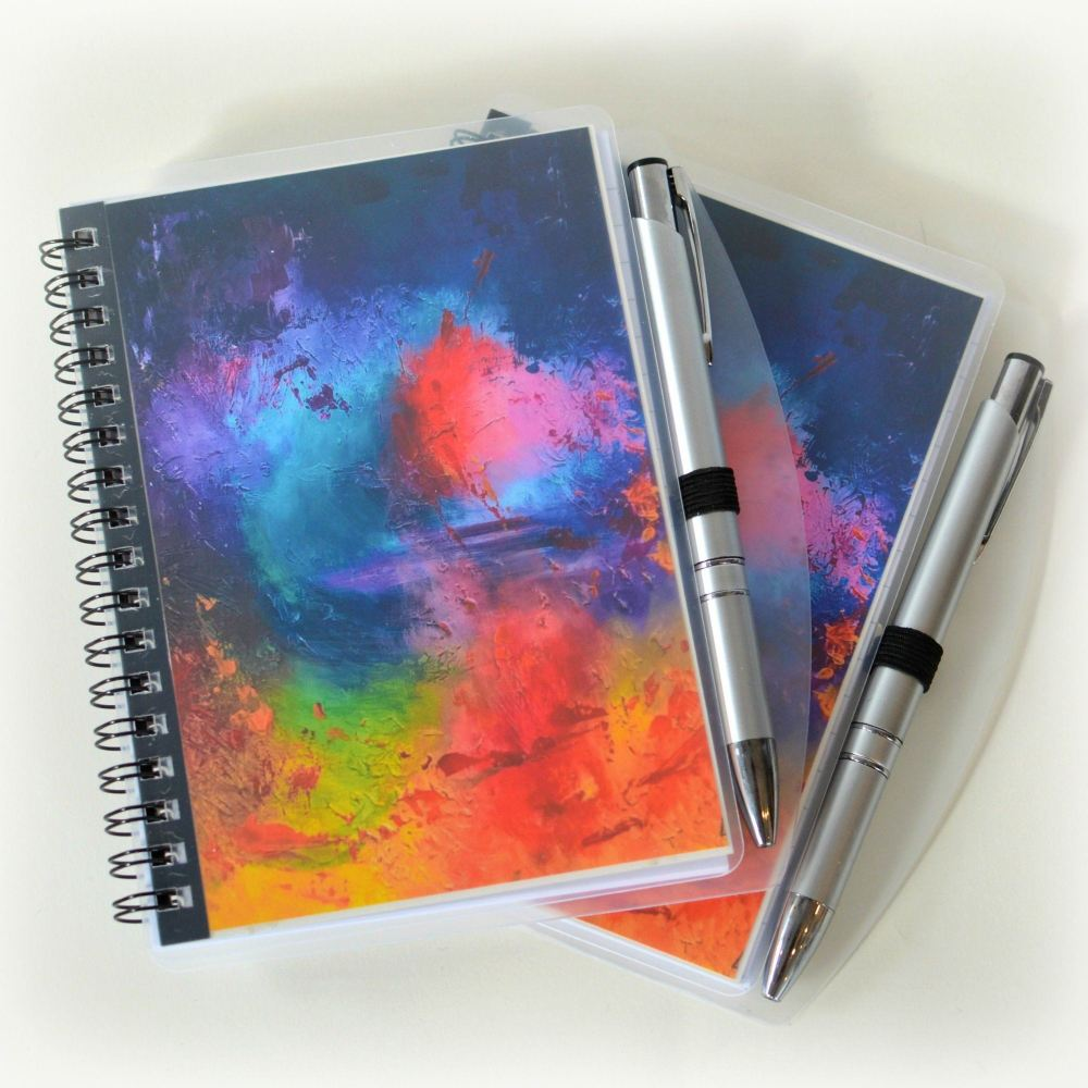 Paradise Notebook and Silver Pen