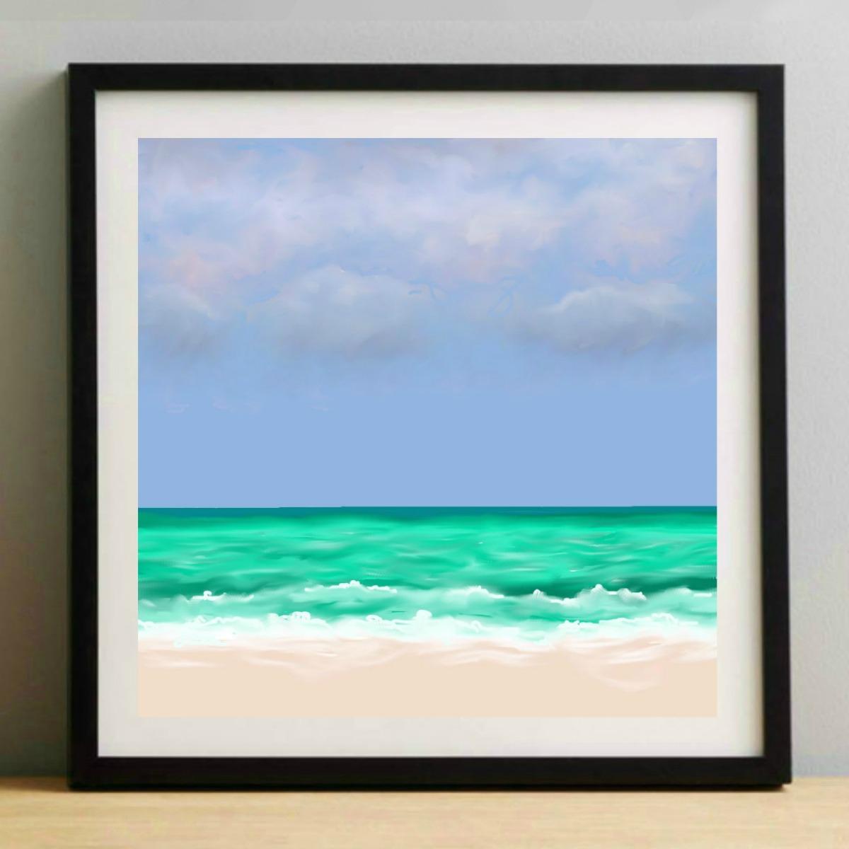 Sea and Sand 4 Print