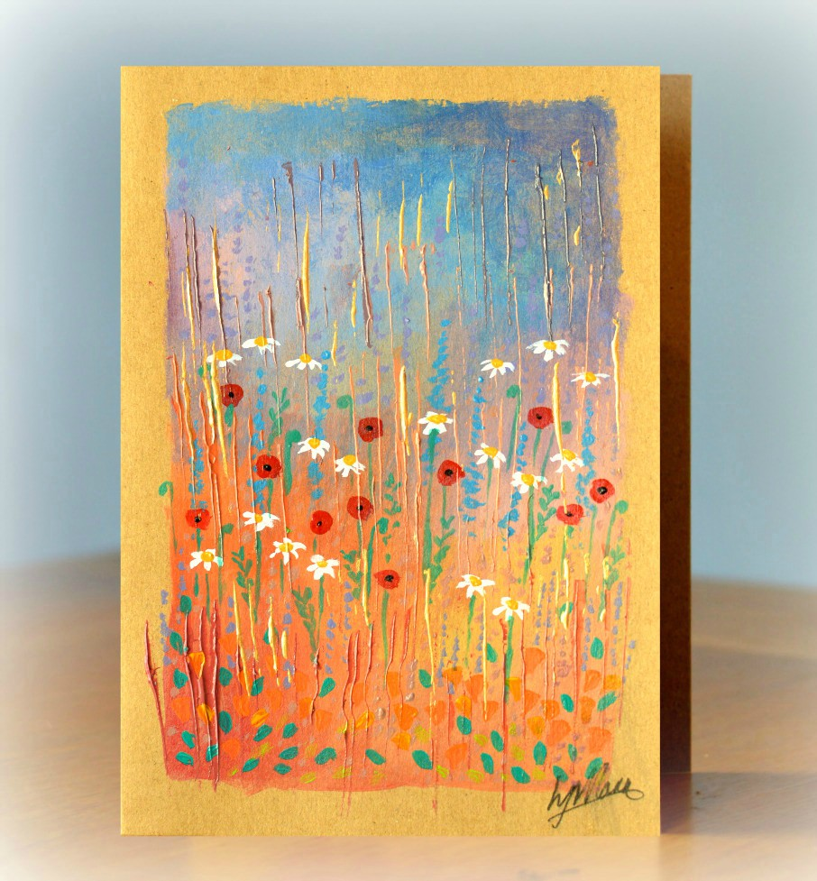 Gift of Art - Warm Meadow 2