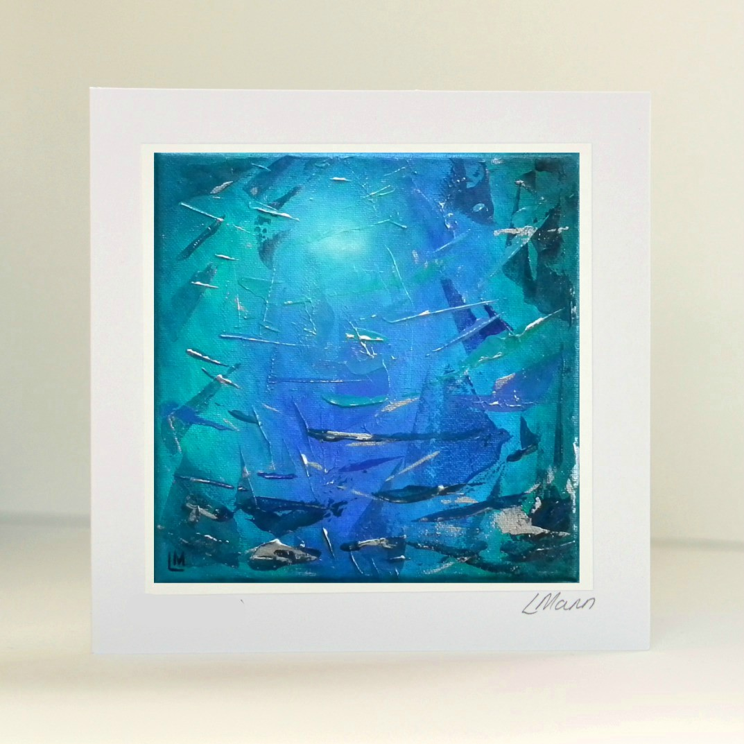 Little Piece of Ocean Greetings Card