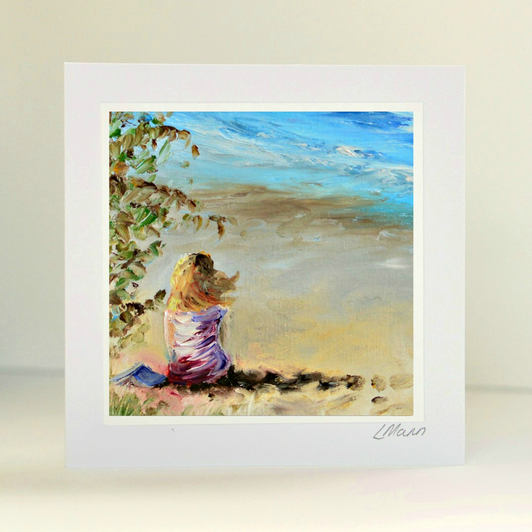 Stolen Moment Greetings Card