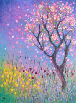 Spring - Original Artwork by Lisa Mann