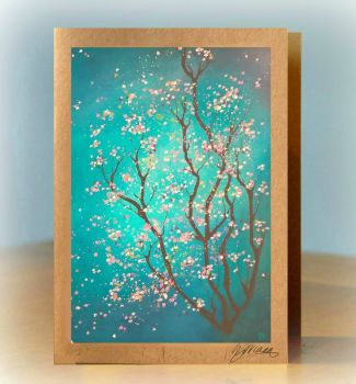 Blossom Greetings Card