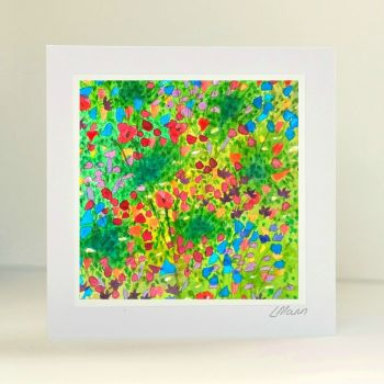 Meadow Flowers Greetings Card