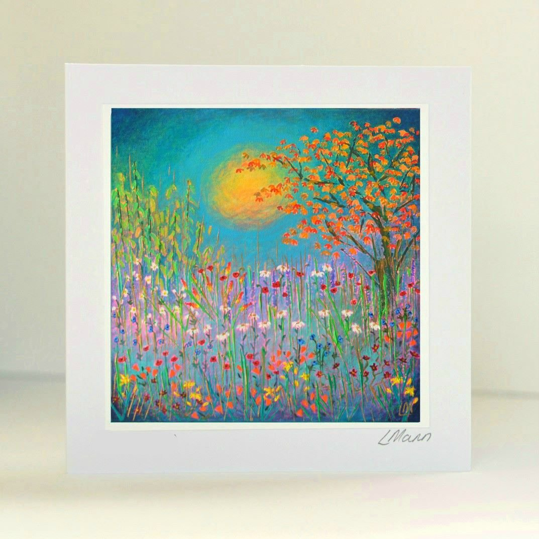 Warm Garden Greetings Card