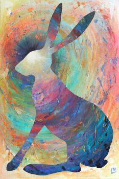 Bright Hare Print