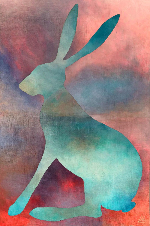 Calm Hare Print
