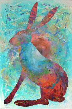 Glorious Hare Print