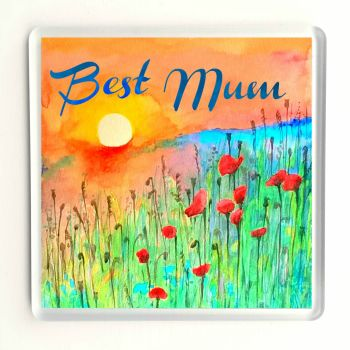 Best Mum - Sunrise Coaster