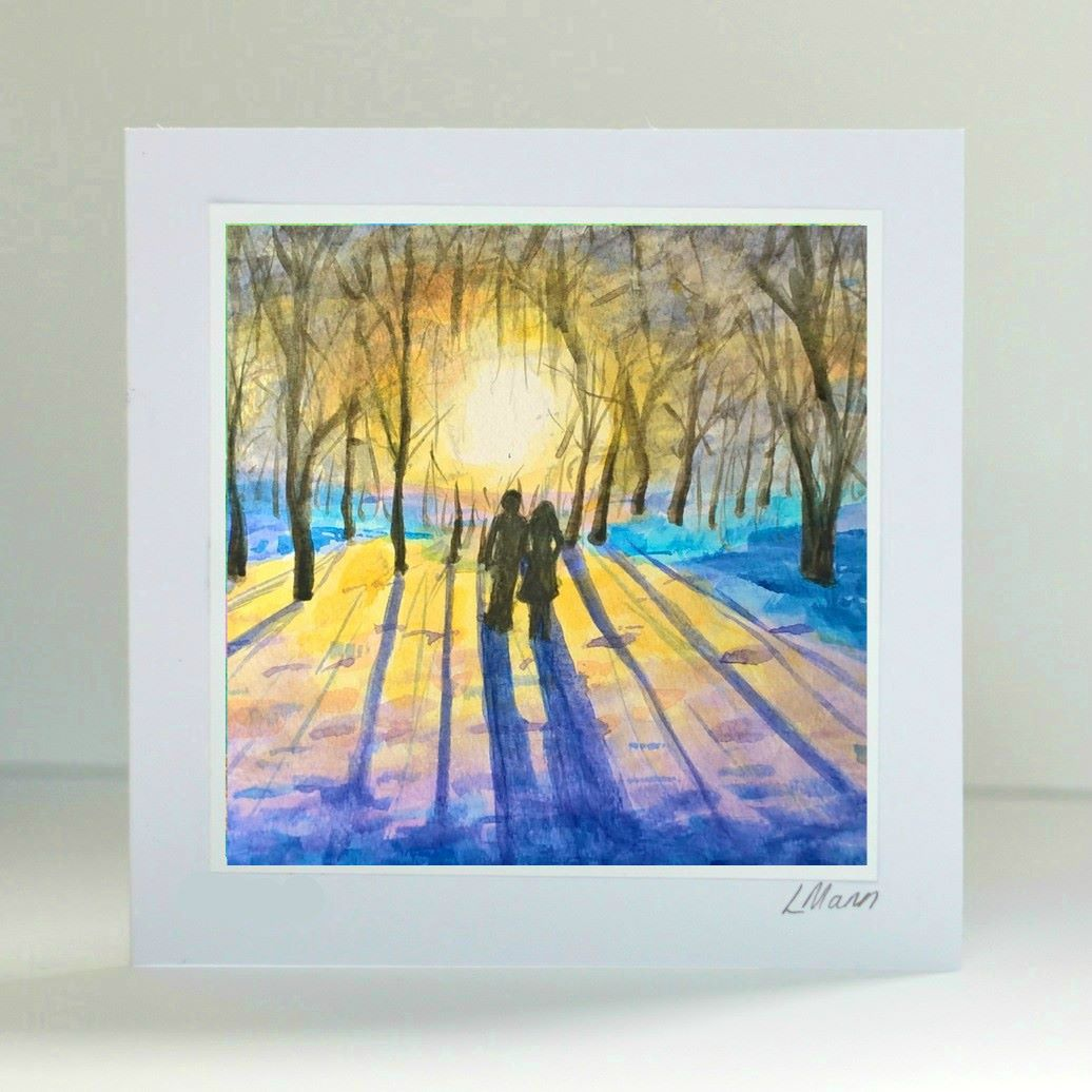 A Walk Together Card