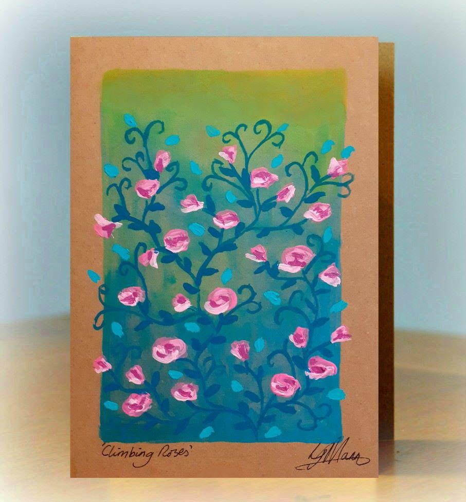 Climbing Roses - pink