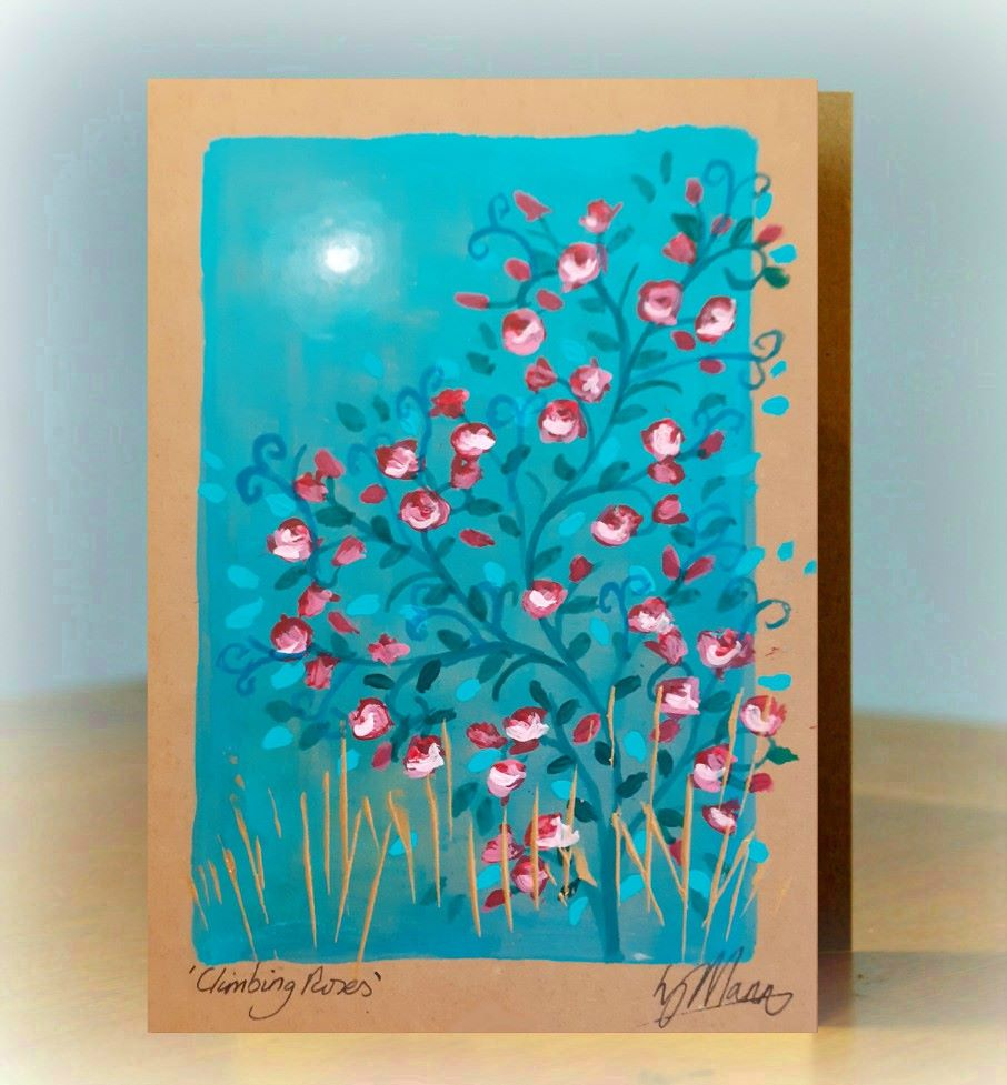 Unique Hand Painted Seasonal Cards