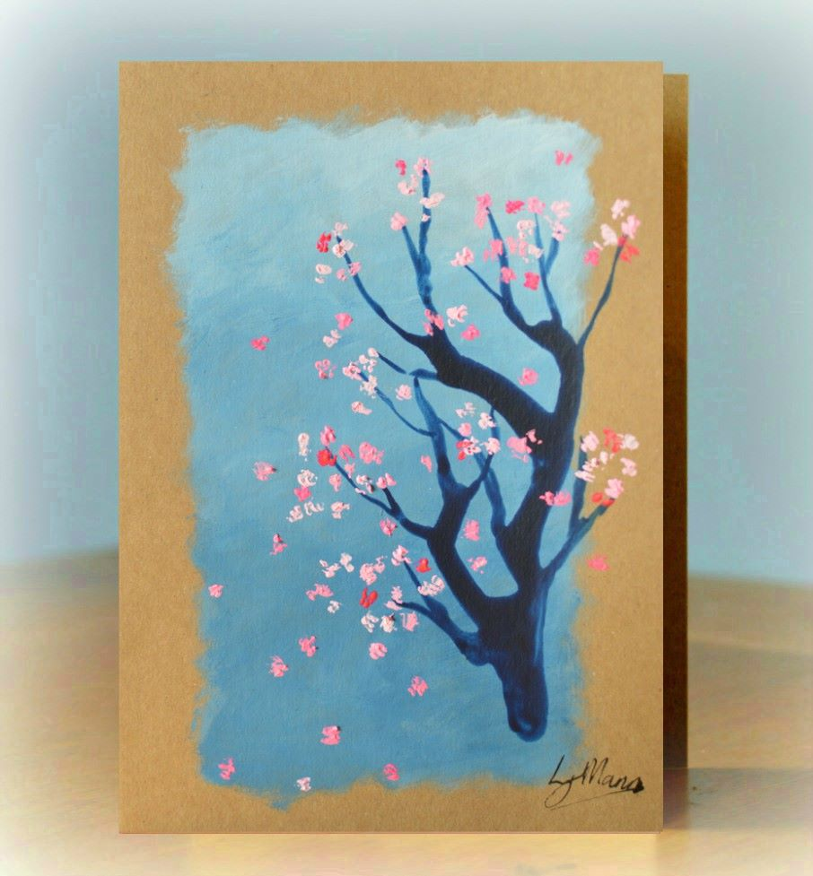 Gift of Art - Blossom with Grey